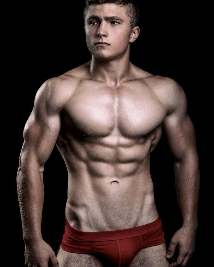 #men #abs #hunks #underwear #muscle
