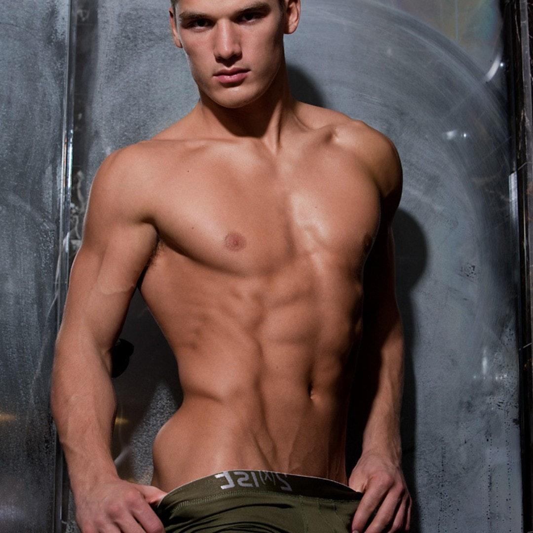 #men #veins #abs #underwear