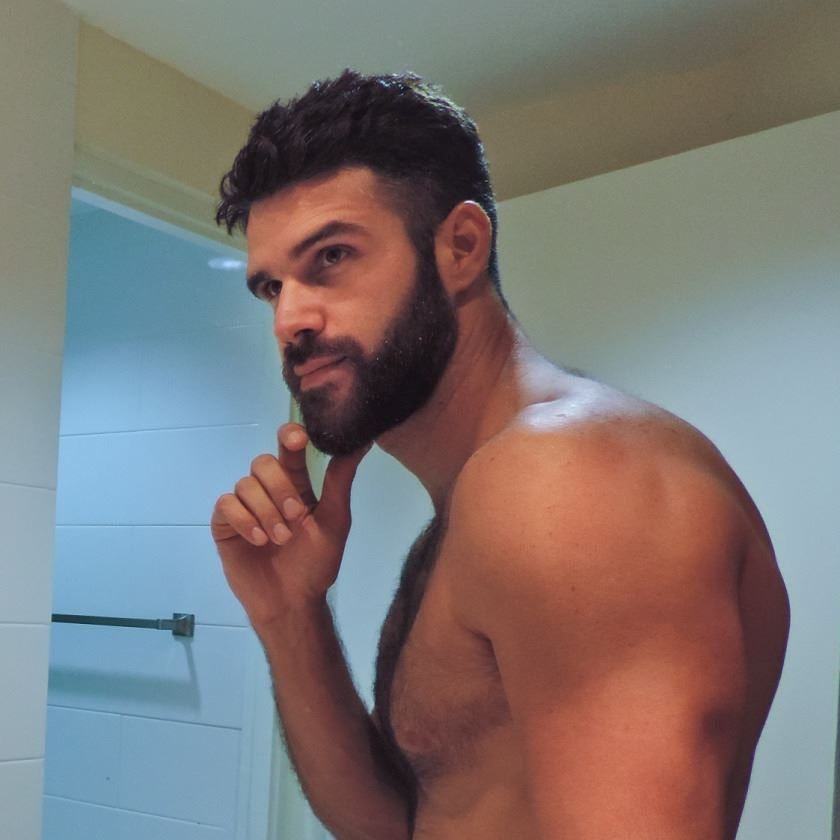 #men #hunks #beard #muscle