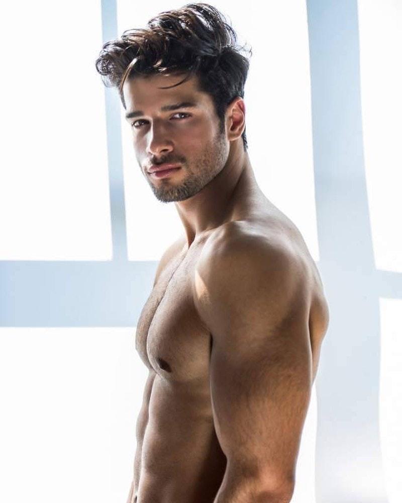 #men #face #muscle #abs #hotmen