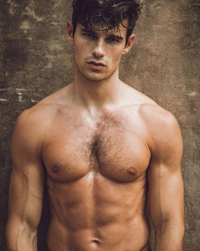 #men #hunks #hairy #abs #muscle #hotmen