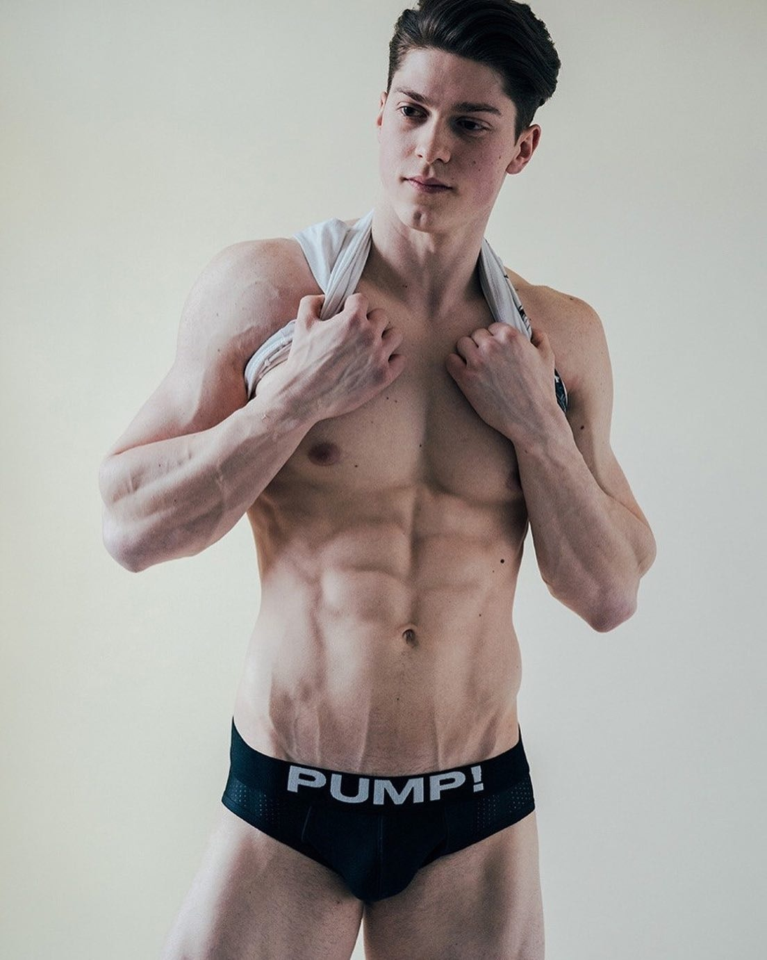#men #pumpunderwear #briefs #abs #muscle #bulge #hotmen #hotboys