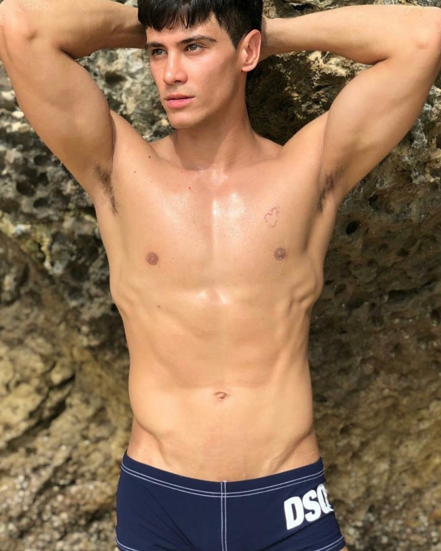#men #twinks #swimsuit #hotboys #hotmen #sexy #armpits #abs