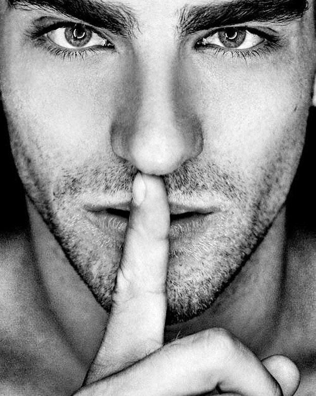 #men #face #blackandwhite