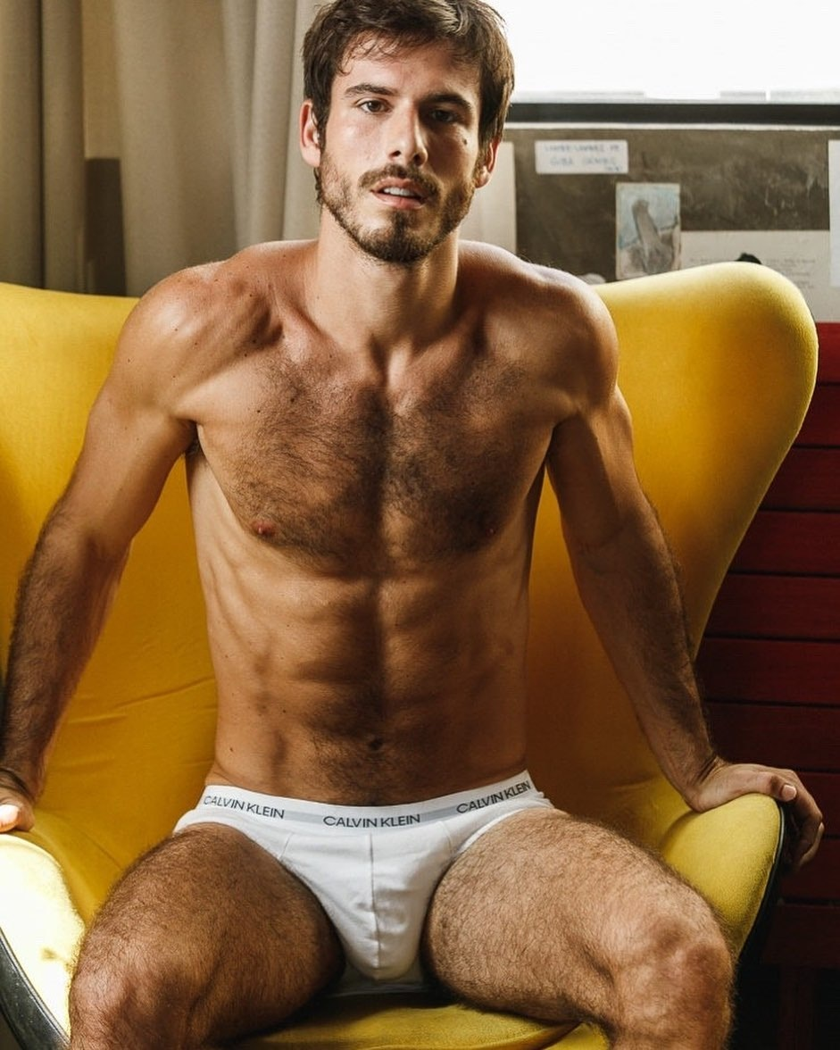 #hairy #bulge #calvinkleinunderwear #abs