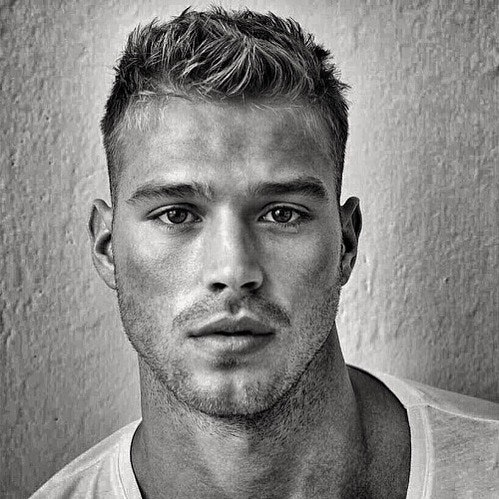 #men #face #blackandwhite #twinks #hotmen