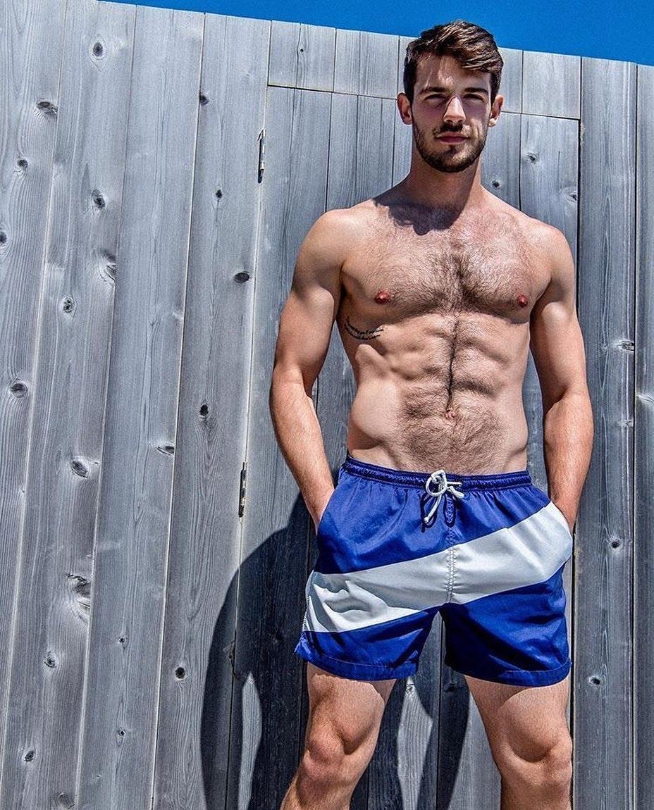#men #swimwear #hairy #abs #muscular #sixpack #hunks #hotmen