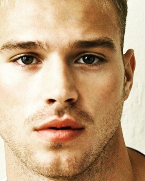 #men #face #hot